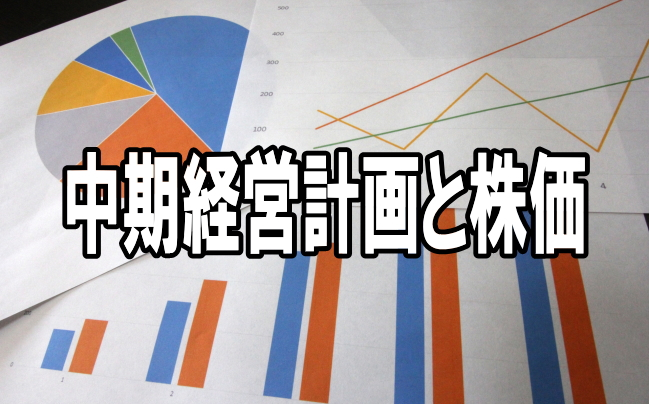 中期経営計画と株価